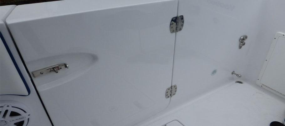 Boat Bow Air Mattress 2018 Grady White 370 Express Power